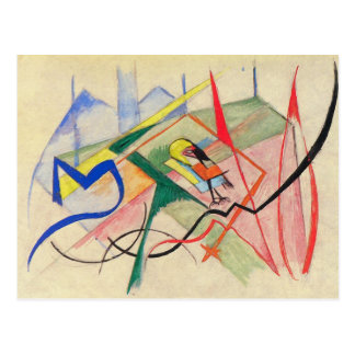 Franz Marc - Small mythical creatures Post Card