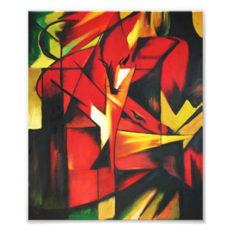 Franz Marc The Fox Print Photo Print