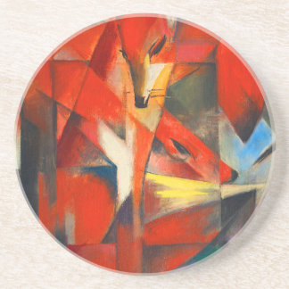Franz Marc The Foxes Coaster