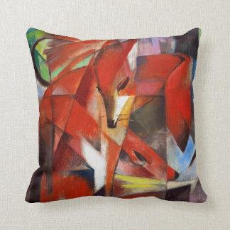 Franz Marc The Foxes Cushion