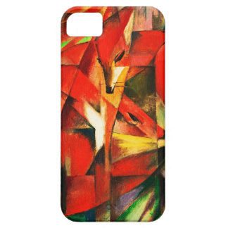 Franz Marc The Foxes Red Fox Modern Art Painting iPhone 5 Case