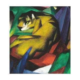 Franz Marc The Tiger Canvas Print