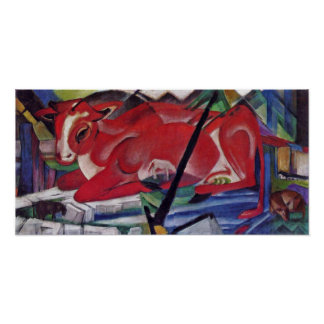 Franz Marc - The World Cow Poster