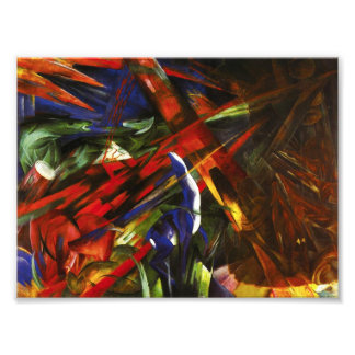 Franz Marc Tierschicksale Photo Print