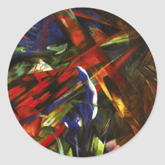 Franz Marc Tierschicksale Stickers