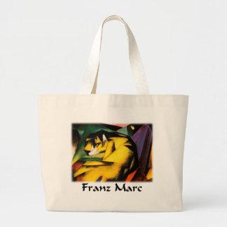 Franz Marc - Tiger Jumbo Tote Bag