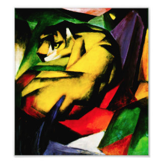 Franz Marc Tiger Photo Print
