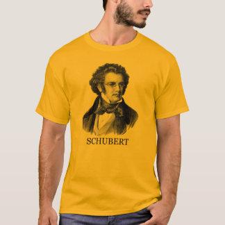 Franz Schubert, black T-Shirt