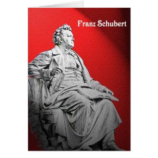 Franz Schubert Greeting Card