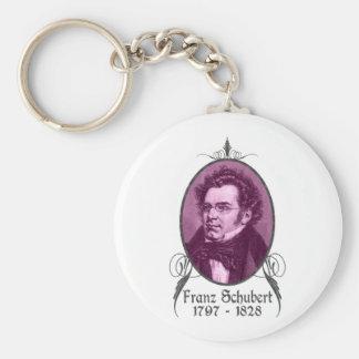 Franz Schubert Key Ring