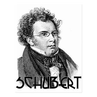 Franz Schubert Postcard