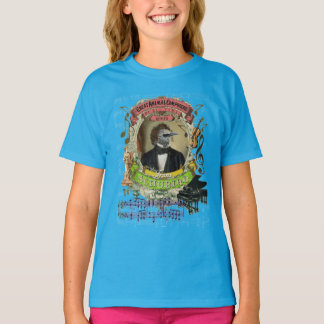 Franz Schubird Animal Composer Schubert Parody T-Shirt
