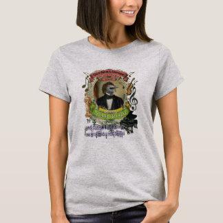 Franz Schubird Great Animal Composer Series Bird T-Shirt