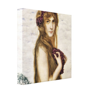 Franz von Stuck - Spring Gallery Wrap Canvas