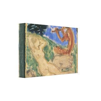 Franz von Stuck - Spring Gallery Wrapped Canvas