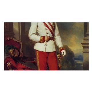 Franz Winterhalter-Austrian Emperor & Maria Teresa Business Cards