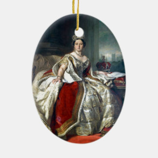 Franz Winterhalter Portrait Queen Victoria Ceramic Ornament
