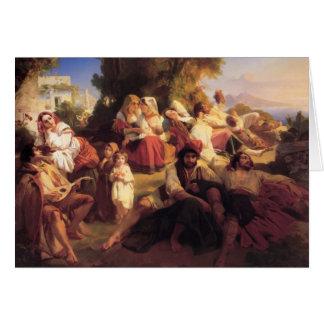 Franz Xaver Winterhalter- Il dolce Farniente Card