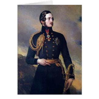 Franz Xaver Winterhalter- Prince Albert Card