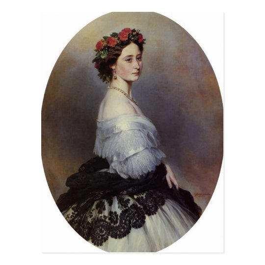 Franz Xaver Winterhalter- Princes Alice of England Postcard