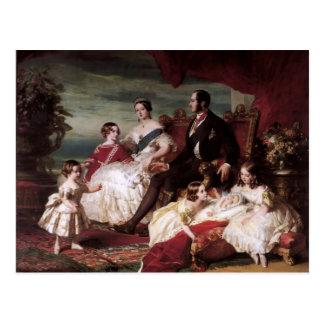 Franz Xaver Winterhalter- The Royal Family in 1846 Postcard