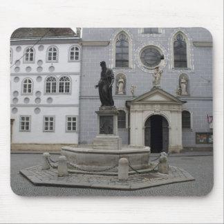 Franziskanerplatz Vienna Austria Mouse Pad