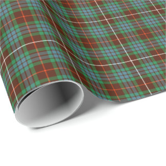 Fraser Hunting Tartan Gift Wrap