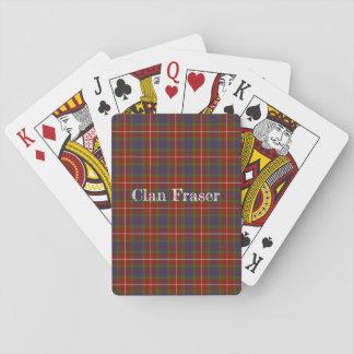 Fraser (of Lovat) Tartan Playing Cards