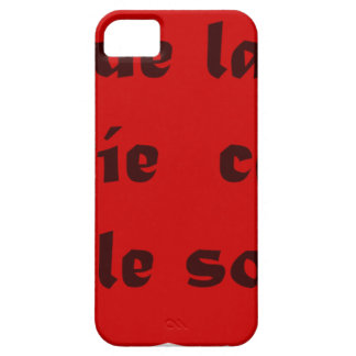Frases Master 12.10 iPhone 5 Cover