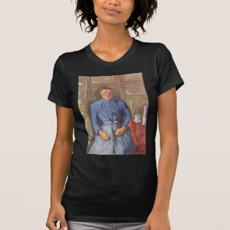 Frau mit Kaffeekanne T Shirt