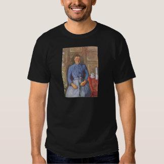 Frau mit Kaffeekanne Tshirt