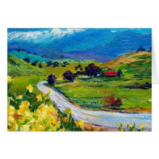 Frazier Valley Springtime 5 x 7 Greeting Card
