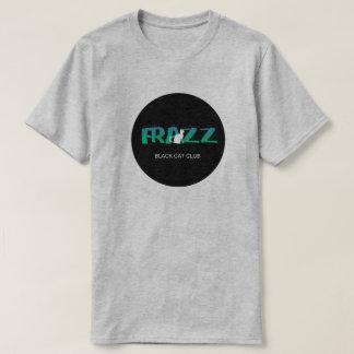 FRAZZ! Black Cat Club Logo T-shirt