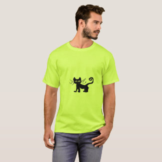 Frazzle Cat Basic T-Shirt