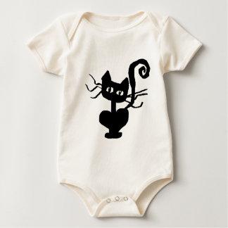 Frazzle Kitty Baby Bodysuit