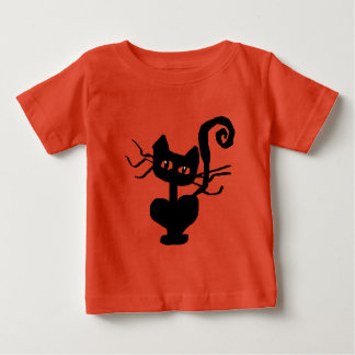 Frazzle Kitty Baby T-Shirt