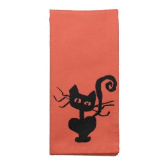 Frazzle Kitty Cartoon Cat Napkin