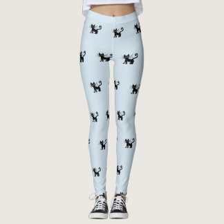 Frazzle Kitty Custom Leggings