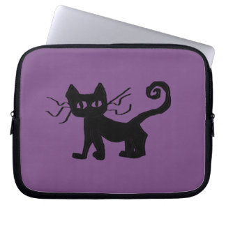 Frazzle Kitty Neoprene Laptop Sleeve 10 inch