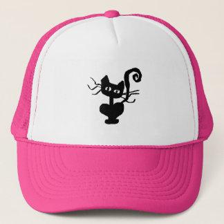 Frazzle Kitty Trucker Hat