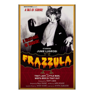 Frazzula, A Tale of Terror! Poster