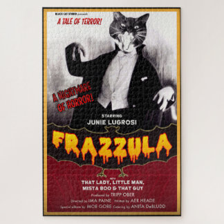 Frazzula Monster Cat Puzzle