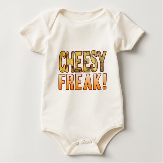 Freak Blue Cheesy Baby Bodysuit
