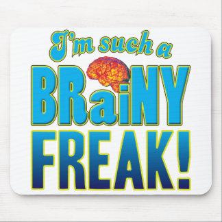 Freak Brainy Brain Mouse Mat