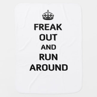 Freak Out and Run Around Buggy Blankets