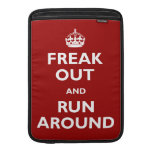 Freak Out and Run Around Sleeves For MacBook Air