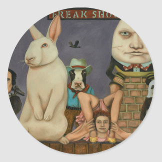 Freak Show Classic Round Sticker