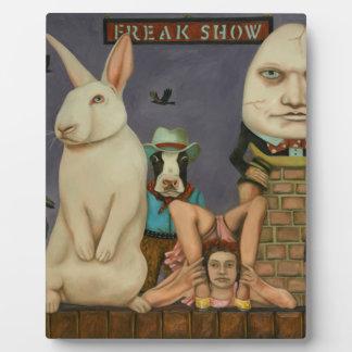Freak Show Plaque
