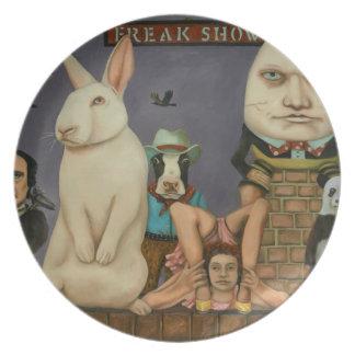 Freak Show Plate