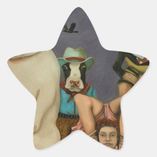 Freak Show Star Sticker